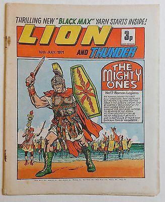 LION and THUNDER Comic - 10th July 1971