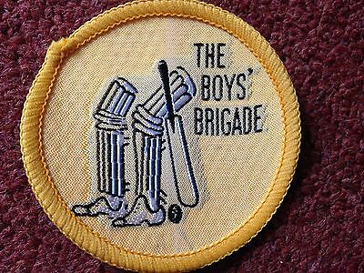 Brand new old style Boy's Brigade Colour for Cricket