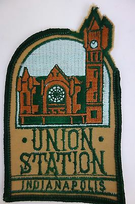 Union Station Indianapolis Vintage Patch