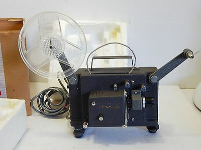 Vintage Microjector 8mm movie film projector - portable mini sized junior use