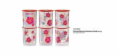 New Tupperware Fortune Blossoms Canisters Small 2.0L Small