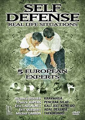 self defense in real life situations  DVD 5 experts defence krav maga DVD94
