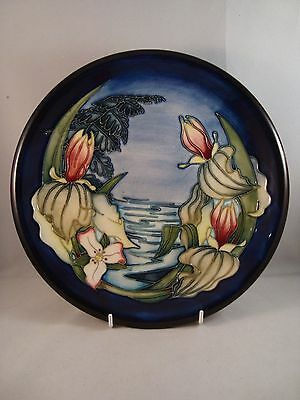 Moorcroft Pottery Plate - Sweet Betsy Pattern