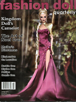 Fashion Doll Quarterly FDQ Winter 2016 New, Camelot, Noel Cruz Wonder Woman