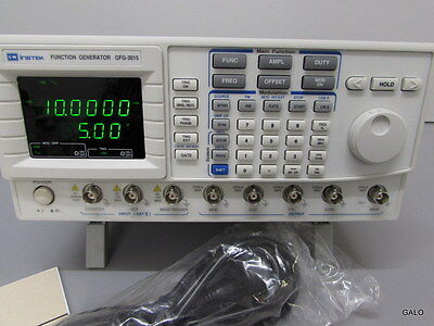 GFG 3015 Function Generator 0.01Hz to 15MHz Programmable