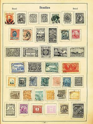 Venezuela Uruguay Brazil Argentina South America OLD M&U(Approx 250+Items) P1