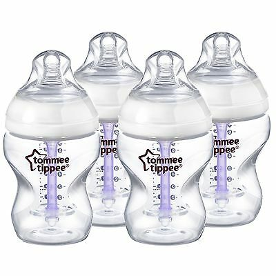 Tommee Tippee Closer to Nature Advanced Comfort Vented Bottles 260 ml/9 floz ...