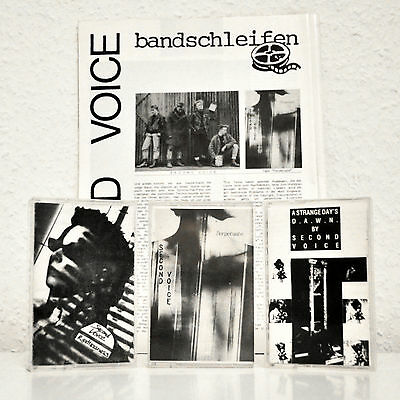 SECOND VOICE Demo Tapes: Restlessness, Perpetuate & A Strange Day's D.A.W.N. !!!