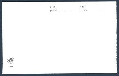 POSTAGE STAMPS - WINDOW CARDS - # 102 (White) - Pack of 100