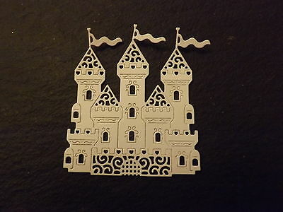 10 Tattered Lace die cuts FAIRY CASTLE