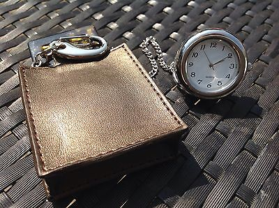 Self Standing Pouch / Pocket Watch Keyring