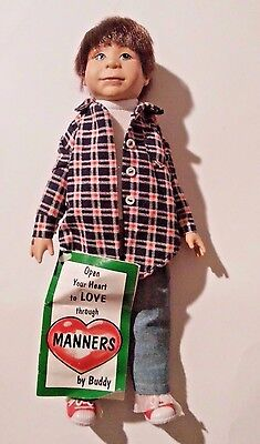 Sarah's Attic From the Heart Buddy Doll Teaching Manners Booklet Sarah's Gang
