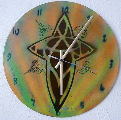 PEARL JAM inspired wall clock .MANCAVE..FANART..POPART