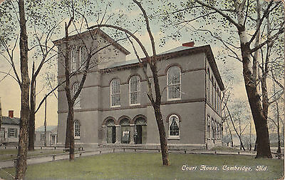 Court House Cambridge MD 1913