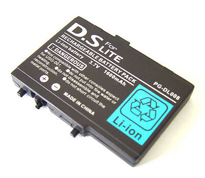 replacement battery for nintendo DS lite nds lite battery, rechargeable Ds lite