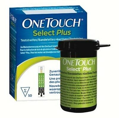 OneTouch Select Plus Test Strips -For OneTouch Select Plus Meters - 1 x 10