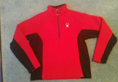 Spyder outbound 1/2 zip red sweater  size s.   New without tags