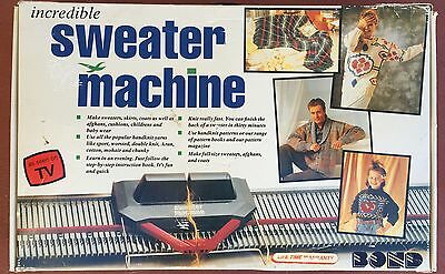 ☀Incredible Sweater Machine Original Box Bond Not Sure Its All There☀England