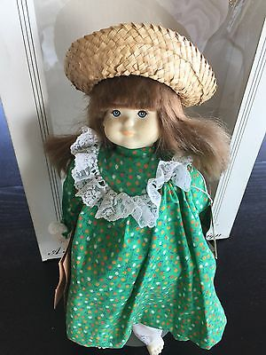"DOLLS BY PAULINE  ""Kountry Kousin"" girl doll Vintage In Original Box"