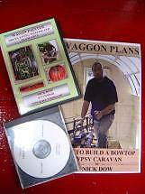 Gypsy Wagon/Caravan Plans+DVD and CD-Rom (How to build)