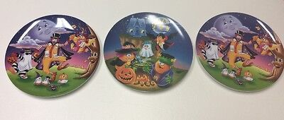 New McDonald's McNugget Halloween Plates from 1995 and 1997