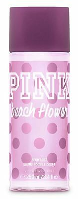 Victoria's Secret Pink New BEACH FLOWER Fragrance Body Mist 250ml