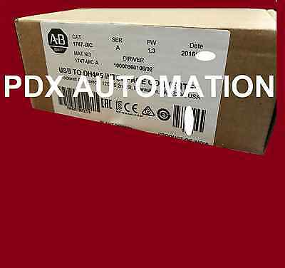 2016 Allen Bradley 1747UIC USB to DH485 Interface Converter Catalog 1747-UIC