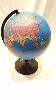 World Countries Globe & Base Educational Atlas Map - Excellent Condition