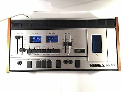 TANDBERG TCD 330 Vintage Cassette Deck Made In Norway