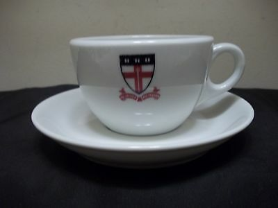 Vintage Shenango by Interpace USA Yachtware China Teacup and Saucer Set EUC