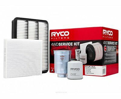 RYCO Oil Air Fuel Filter Cabin Service Kits PRADO KDJ150 KDJ155 3.0 1KDFTV