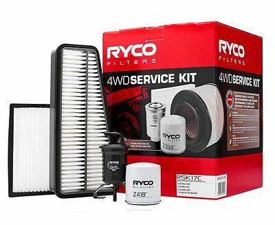 RYCO Oil Air Fuel Filter Cabin Service Kits PRADO GRJ120 1GRFE V6 4.0L