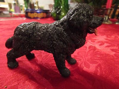Papo 54018 Newfoundland Terrier Dog - Animal Toy - Collectible Figurine 2010