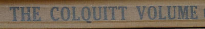 """Colquitt Family Tree, By Zelma Wells Price """"of Whom I Came From"""""""