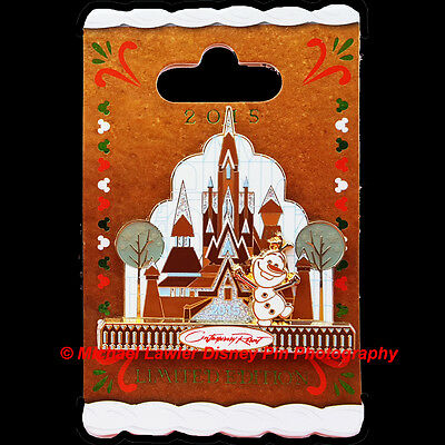Disney Wdw Contemporary Resort Gingerbread House Collection 2015 Olaf Pin