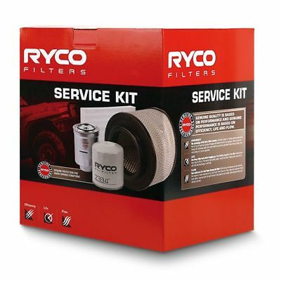 RYCO Oil Air Fuel Cabin Filter Service Kit ISUZU DMAX MUX 2013 onwards