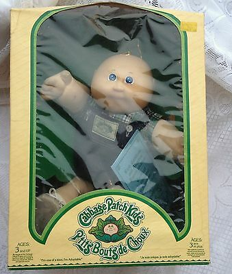 Coleco  1983 Cabbage Patch Kids Adoption & Birth Cert. NIB  Felix Michael 43a
