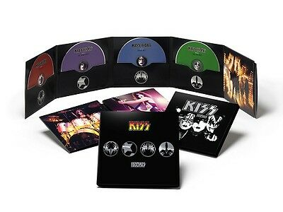 KISS IKONS Box Set 4 CD Collector's Edition New Sealed OOP Gene Ace Not Auction