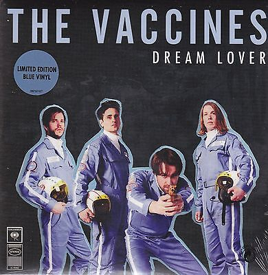 """New The VACCINES 7"""" DREAM LOVER BLUE VINYL RECORD SINGLE RARE LIMITED EDITION"""