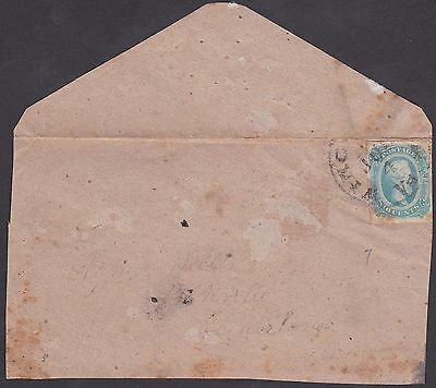 Confederate CSA Winchester, VA Cover with #12 Stamp