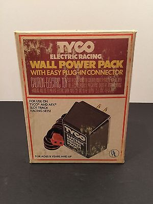 TYCO Adaptor Power Pack Model 610 Toy Supply AFX Electric Racing Slot Car AC DC