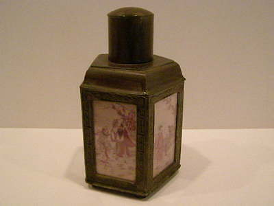 Early 20Th Century Chinese Bronze Tea Caddy, C 1920