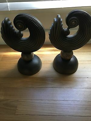 Art Deco Pair of Statues