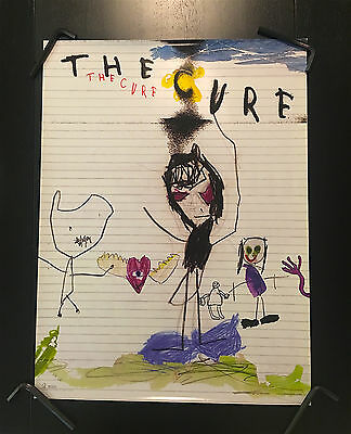 The Cure Rare Vintage 2004 Promo Poster Tags Siouxsie Depeche Mode Morrissey U2