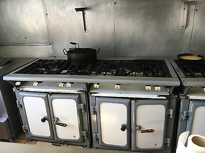 Commercial 8 Burner Cooker with Drawers Excellent Condition