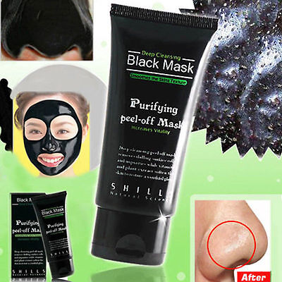 [SHILLS] Purifying Blackhead Remover Peel-Off Cleaning Black Facial-Mask 50ml