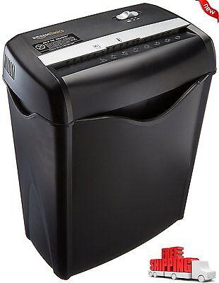 NEW Cross Cut Paper Shredder Destroy Credit Card Documents Office Home Business