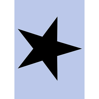 Star Stencil A4 Re-Usable Shabby Chic Airbrush French Wall Craft DIY 055