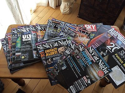 Sky At Night Magazines And Others ~ job Lot