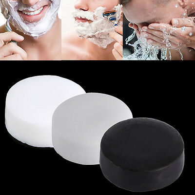 3 Types Men's Handmade Beard Shaving Soap Cream Foaming Shave Tool Soft Travel